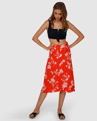 Billabong Mad Love Floral Skirt
