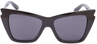 Le Specs angled frame sunglasses