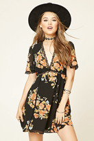 Forever 21 FOREVER 21+ Contemporary Floral Print Dress