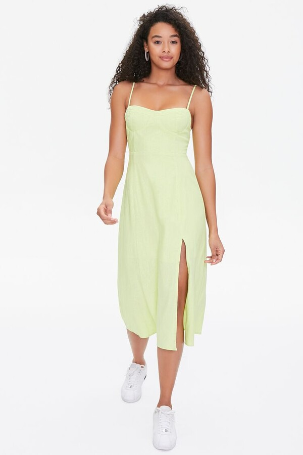 Thumbnail for your product : Forever 21 Bustier Cami Midi Dress