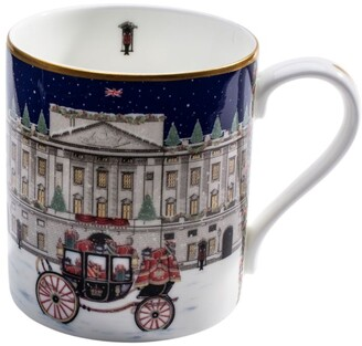 Halcyon Days Carriage In The Snow Mug