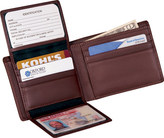 Royce Leather Men's Bi-Fold Wallet 109A-5