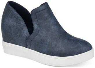 Journee Collection Cardi Wedge Sneaker