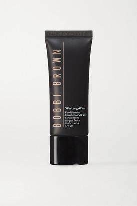 Bobbi Brown Skin Long-wear Fluid Powder Foundation Spf20 - Walnut