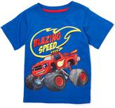 Children's Apparel Network Blue Blaze & The Monster Machines 'Blazing Speed' Tee - Toddler