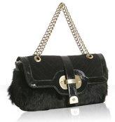 black rabbit 'Lucy' slim shoulder bag