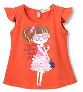 Panda Superstore Fashion Girls T-shirt Short Tee, 6-7 Yrs