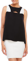 philosophy Woven Color Block Tank