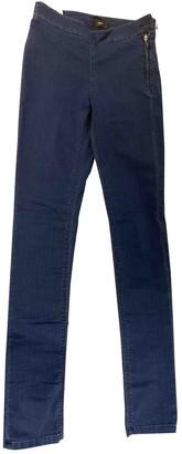 Filippa K Blue Cotton - elasthane Jeans for Women