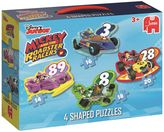 Disney Mickey Mouse 4-In-1 Shaped Puzzle Set