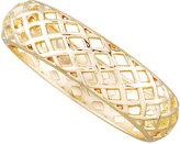 Sequin Golden Basketweave Bangle