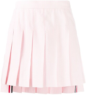 Thom Browne Pleated Short Skirt