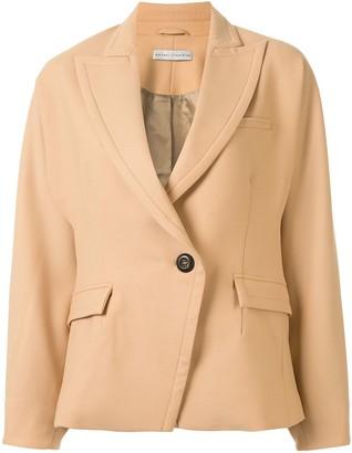 Palmer Harding Cocoon-Style Blazer