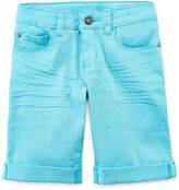 Arizona Colored Bermuda Shorts - Girls 7-16, Slim and Plus