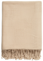 A & R Cashmere Cashmere Blend Multi-Weave Throw