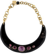 Ashley Pittman Ruby-Station Collar Necklace