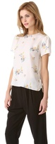 Band Of Outsiders Short Sleeve Blouse