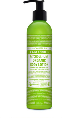 Dr. Bronner's Organic Patchouli Lime Lotion 237Ml