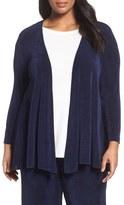 Vikki Vi Open Front Swing Cardigan (Plus Size)