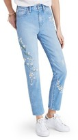 Madewell Women's Perfect Summer High Waist Embroidered Jeans