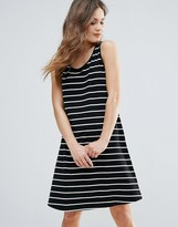 B.young Striped Skater Dress