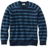 L.L. Bean L.L.Bean Blue Jean Sweater, Crewneck Stripe