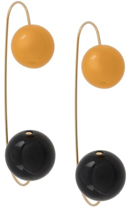 Marni Double Bead Oversize Earrings