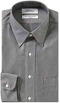 Daniel Cremieux Non-Iron Fitted Classic-Fit Point-Collar Diagonal-Striped Dress Shirt
