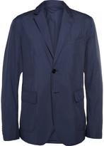 Gucci Blue Lightweight Shell Blazer