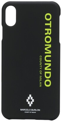 Marcelo Burlon County of Milan Otromundo iPhone XS MAX case
