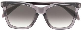 Alexander McQueen Eyewear Skull Cat-Eye Sunglasses