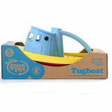 Asstd National Brand Green Toys Tug Boat Blue Accessory