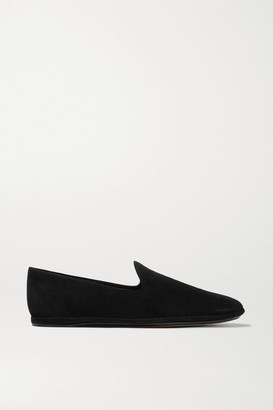 Vince Paz Suede Loafers - Black