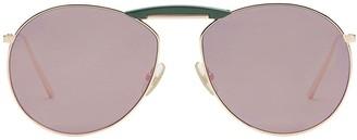 Fendi x Gentle Monster round sunglasses