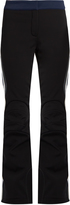 Fendi Side-striped flared-leg ski trousers