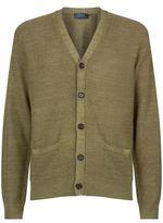 Polo Ralph Lauren Textured V-Neck Cardigan