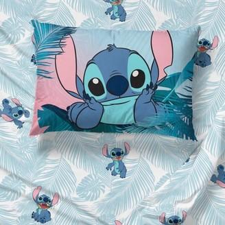 Lilo & Stitch Blue Floral Fun Bed Sheet Set