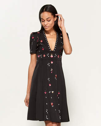Temperley London Saturn Fit & Flare Dress