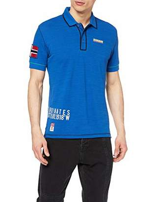 Napapijri Men's Elize Polo Shirt, Skydiver Blue Bc5