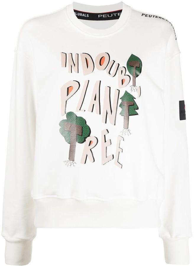 Peuterey Graphic Print Sweatshirt
