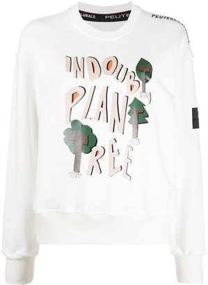 Peuterey Graphic Print Sweatshirt