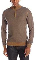 Cutter & Buck Men's Twin Falls Half Zip Sweater