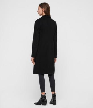 AllSaints Elora Wool Coat