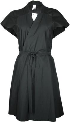 Format KIND Black Plain Dress - XS - Black