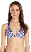 Body Glove Women's Byron Bay Flare Halter Bikini Top