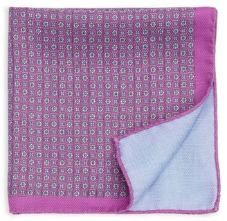 Saks Fifth Avenue COLLECTION Mini Floral Silk Pocket Square