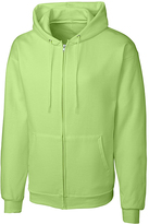 Clique Lime Fleece Zip-Up Hoodie - Unisex