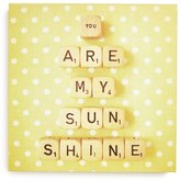 DENY Designs 'Happee Monkee - You Are My Sunshine' Canvas Wall Art