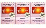 Out of Africa Out of Africa, Pure Shea Butter Bar Soap, Lavender, 3 Pack, 4 oz (120 g) Each - 2PC