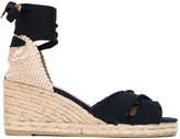 Castaner wedge espadrilles - women - Leather/Canvas/rubber - 39